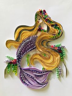 Arte Quilling, Quilling Work, Paper Quilling Designs, Quilling Paper Craft, Paper Crafts, Quilling Ideas, Paper Quilling For Beginners, Quilling Techniques, Diy Arts And Crafts