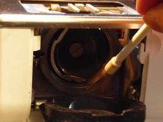 Schoonmaken naaimachine
