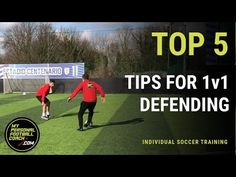 Online Soccer Training - Top 5 tips for defending - My Personal Football Coach Soccer Drills For Kids, Basketball Tricks, Soccer Workouts, Soccer Practice, Soccer Skills, Soccer Tips, Play Soccer, Football Drills, Soccer Videos
