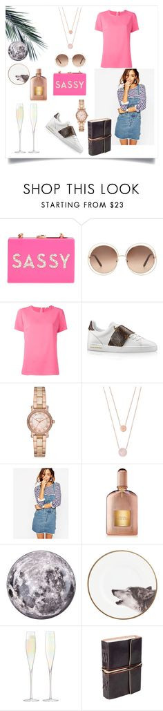"""Sassy"" by sole-rack ❤ liked on Polyvore featuring Milly, Chloé, P.A.R.O.S.H., Michael Kors, ASOS, Tom Ford, Diesel and LSA International"