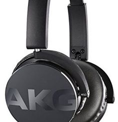 AKG Y50 Portable Foldable On-Ear Headphones Earphones with Detachable Cable and…