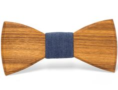 """""""Leon"""" - Unique handcrafted wooden bow ties made by Two Guys Bow Ties."""