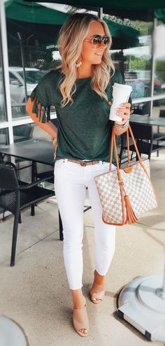 men's white jeans #summer #outfits