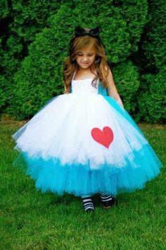 Alice in Wonderland Tutu Dress Preorder (Girls Halloween Dresses & Boys Outfits). Alice in Wonderland Tutu Dress.