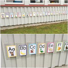 Specialpedagogik i förskolan: Meningsfulla aktiviteter utomhus: Alfabetet