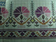 … Cross Stitch Art, Cross Stitch Borders, Cross Stitch Flowers, Cross Stitch Designs, Cross Stitching, Cross Stitch Embroidery, Cross Stitch Patterns, Embroidery Patterns Free, Embroidery Designs