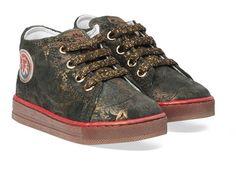 Groene Naturino kinderschoenen Falcotto Magic boots