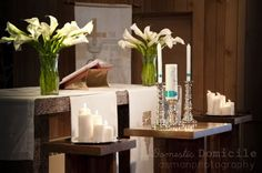 altar decorations for weddings - Google Search - callalily