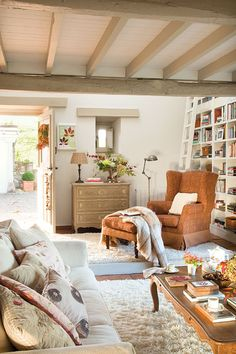 Home Library On Pinterest Home Libraries Library Design And Cozy