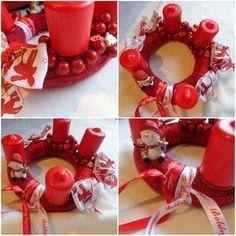 ❤️ #advent #adventskranz #red #christmas #december #homemade