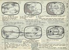 Rankin Bass Hobbit Storyboard