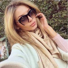 d8154146e0d 2016 Women Half Frame Sunglasses New Brand Designer Fashion Gafas Lentes De  Sol Vintage Lunette Cat Eye Eyewear Men Outdoor - B E S T Online  Marketplace - ...