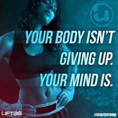 Mind over workout. #startstrong