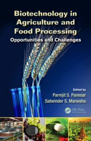 The book begins with the fundamental concepts of the role of biotechnology and genomics in agriculture and food processing. Building on this, it then focuses on specific applications of biotechnology in agriculture and includes chapters on plant cell and tissue culture techniques, genetic transformation in crop improvement, and the production of biofertilizers and biopesticides.