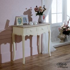 Country Ash Range - Console Table