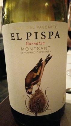 El Paseante El Pispa 2014 - DO Montsant - Bodegas Vinos del Paseante - Vino tinto joven con crianza envejecido en barricas de roble francés y americano - 100% Garnacha Tinta - 14,5%