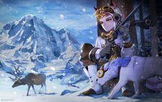 sevenknight snipper by on DeviantArt Seven Knight, Knight Art, Character Illustration, Best Games, Fantasy Characters, Hero, Fan Art, Anime, Swords
