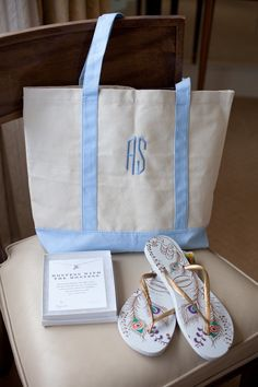 Shot of bridal party gifts