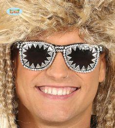 Rock 'n Roll Aurinkolasit Estilo Rock, Rock Roll, Punk, Rolls, Eyes, Beauty, Halloween, Products, Glow