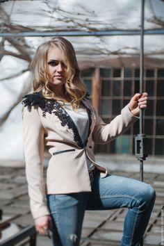 """Купить Пиджак""""Город Грехов"""" - Красивый жакет, модный жакет, красивый пиджак, модный пиджак"""