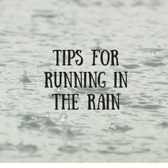 Worried about running in rainy weather? Here are some strategies for staying as comfortable as possible when running and racing in the rain. Running Workouts, Running Tips, Running In The Rain, Rainy Weather, Training Plan, Race Day, Racing, Fall, Jogging Tips