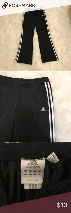 adidas pants RePosh! Only worn a few times. Elastic waistband and pockets! Comment with questions. Adidas Pants Track Pants & Joggers