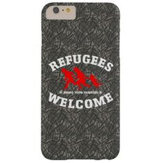 Refugees Welcome Bring Your Family iPhone 6 Plus Case #refugees #refugeeswelcome #refugeecrisis