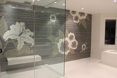 Sonite custom Mosaics  www.imptile.com  Mosaic Mural Master Bathroom