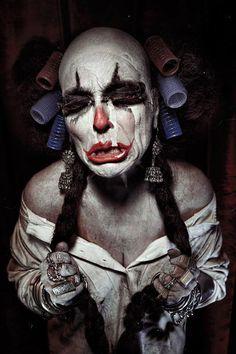Clown...creepy!!!!