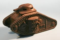 Rare World War 1 Cast Iron Antique Army Toy Tank Penny Bank http://www.busaccagallery.com/catalog.php?catid=112&itemid=6728&page=1Art Collectors ! My Top Curated Art Picks !