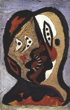 "Pablo Picasso - ""Visage"". 1926"