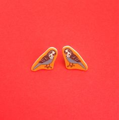Little Budgie Earrings.