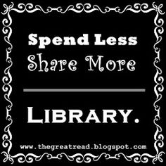 Libraries encourage sharing. Good for the environment. Good for everyone.