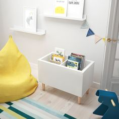 Ikea Kids Desk, Ikea Hack Kids, Ikea Kids Room, Ikea Hacks, Ikea Furniture Hacks, Kids Room Furniture, Baby Room Diy, Baby Room Decor, Diy Ikea Kallax
