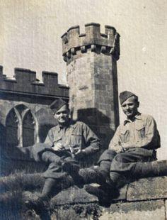 Jan Kubiš and Jozef Gabčík in Great Britain. Political Beliefs, Hero World, Catholic Priest, The Third Reich, World History, World War Two, Czech Republic, Great Britain, Ww2