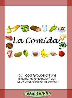 Spanish Food Vocabulary La Comida