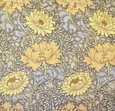William Morris 'chrysanthemum' 1877