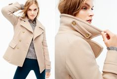 Great coat for winter! Love the color! --- Women's Clothing - Looks We Love - J.Crew