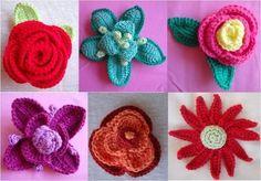 Ganchillo: Haz flores con estos patrones [FOTOS] | Ella Hoy