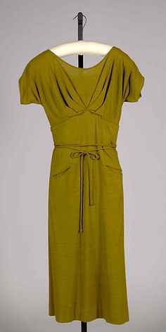 Dress , Claire McCardell (American, 1905–1958) Manufacturer: Townley Frocks (American) Date: 1952