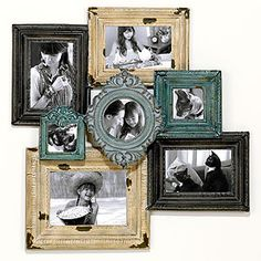 when i have the time and money, I'm definitely goin to make a collage frame like this