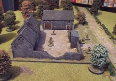 Game Boards, Board Games, Building Ideas, Building A House, Bolt Action Game, Hangars, La Haye, Chain Of Command, Wooden House