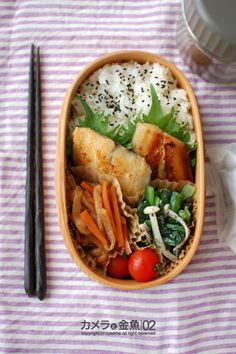 Cute Food, I Love Food, Yummy Food, Japanese Lunch Box, Japanese Food, Asian Recipes, Real Food Recipes, Healthy Lunches For Work, Plate Lunch