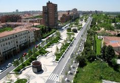 PARK-Madrid RIO  Design: Burgos & Garrido / Porras La Casta / Rubio A.Sala / West 8 urban design & landscape architecture  Location: Madrid / Spain