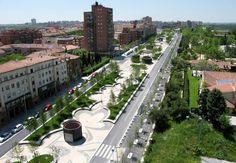 PARK-Madrid RIO  Design: Burgos & Garrido / Porras La Casta / Rubio A.Sala / West 8 urban design & landscape architecture  Location: Madrid / Spain