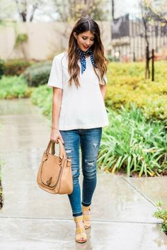 The Perfect Sandal   spring fashion   spring style   warm weather fashion   style ideas for spring   outfit ideas for spring    The Girl in the Yellow Dress