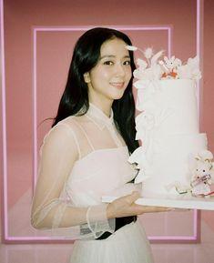 South Korean Girls, Korean Girl Groups, Black Pink Leader, Lisa Young, Miss Dior, Blackpink Jisoo, Selena Gomez, One Shoulder Wedding Dress, Ruffle Blouse