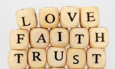 Relationship should be build on love, faith and trust. With whom? With God..