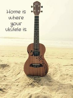 Home is where your ukulele is