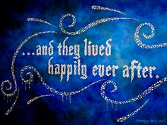 ...and they lived happily ever after ♥